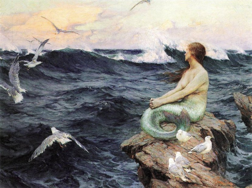Mermaid by Charles Murray Padday