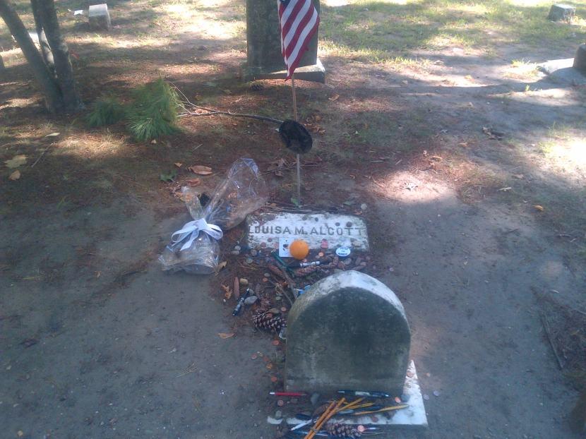 Grave of Alcott