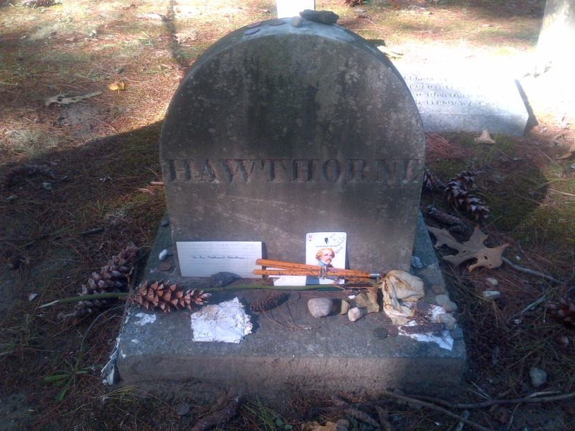 Grave of Hawthorne