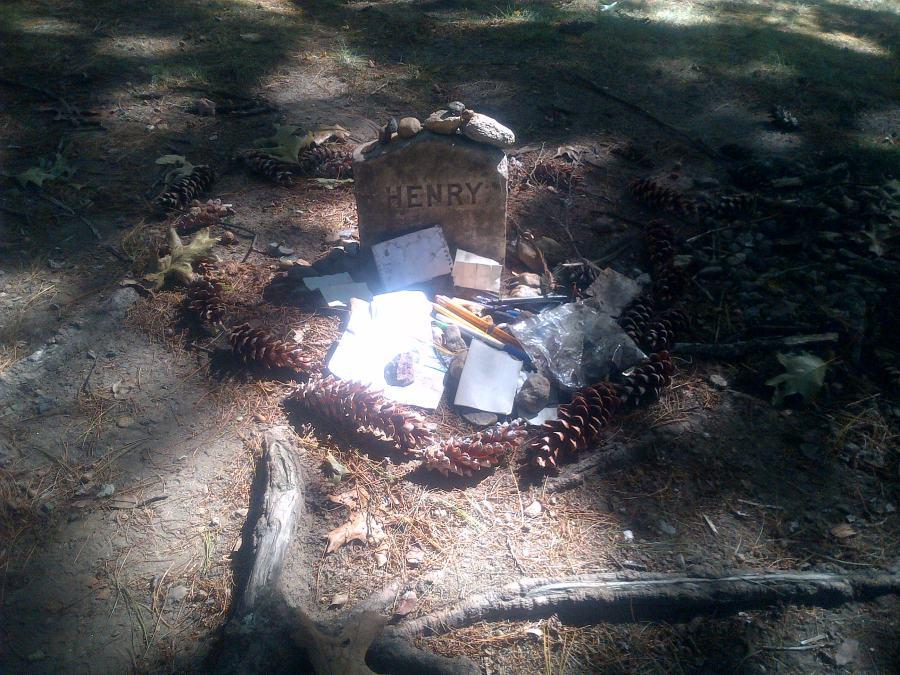 Grave of Thoreau