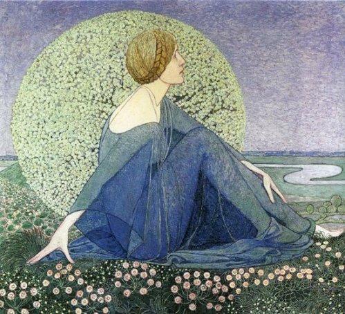 Dreams II by Heinrich Vogeler