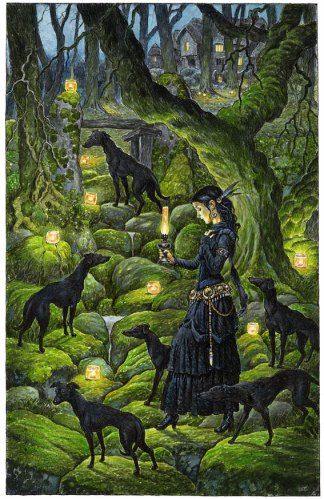 Mariana and the Black Whippets by David Wyatt