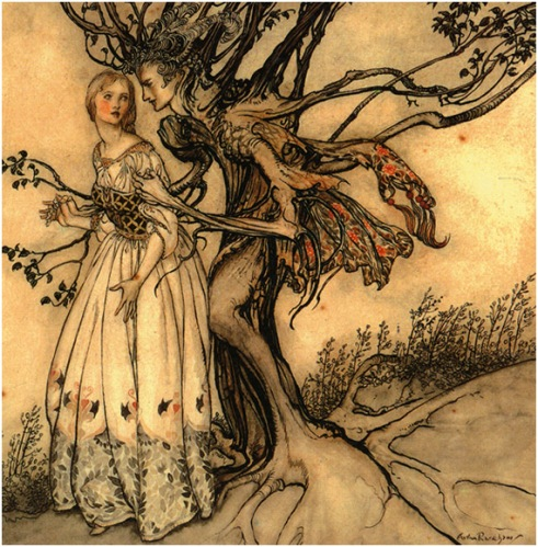 Tree by Arthur Rackham