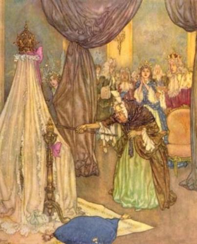 Illustration by Edmund Dulac 3