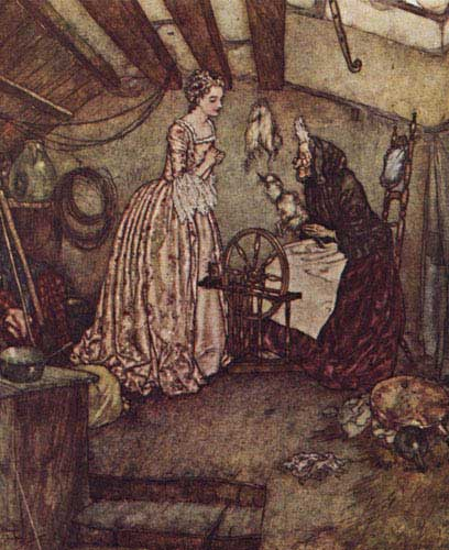 Illustration by Edmund Dulac
