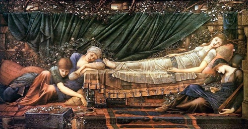 Sleeping Beauty by Edward Burne Jones
