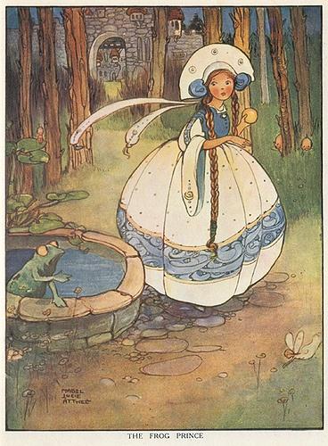 The Frog Prince by Mabel Lucie Attwell