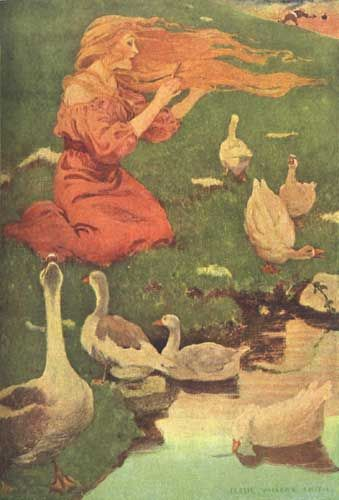 The Goose Girl by Jessie Wilcox Smith