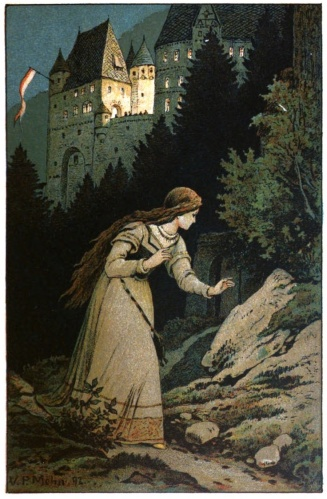 Illustration for Cinderella by Viktor P. Mohn