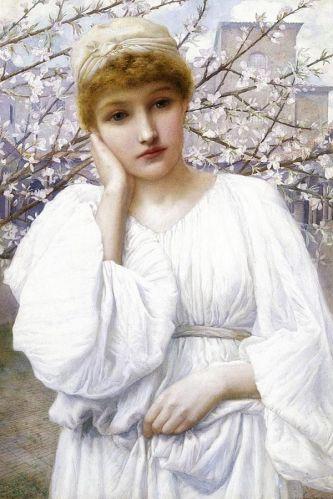 La Primavera by Henry Ryland