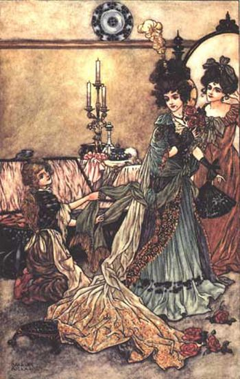Illustration for Cinderella by Charles Folkard 2