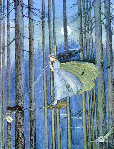 Witch by Ida Rentoul Outhwaite