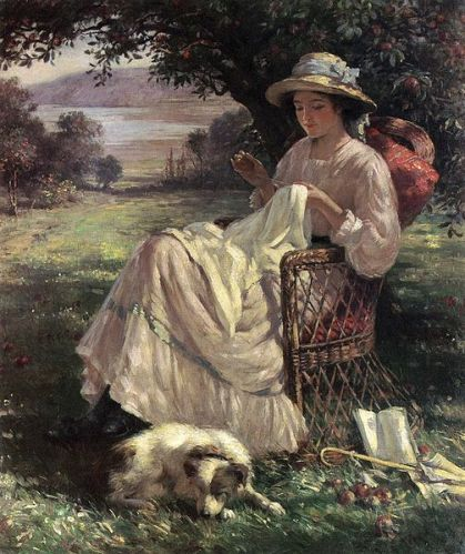 Sunlight and Shadow by William Kay Blacklock