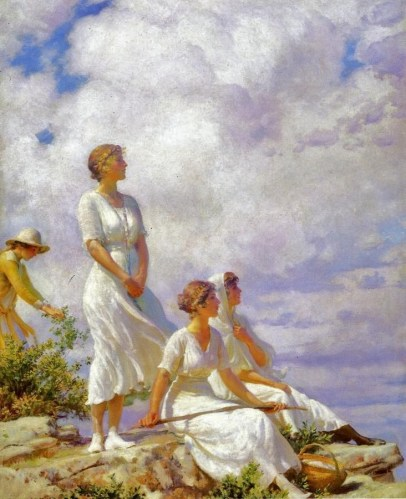 summer-clouds-by-charles-courtney-curran
