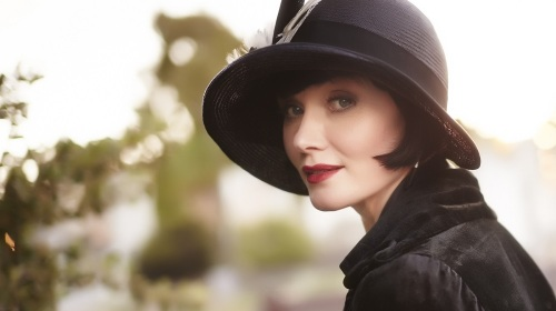 Essie Davis plays Phryne Fisher, a beautifully attired detective in 1920s Melbourne.
